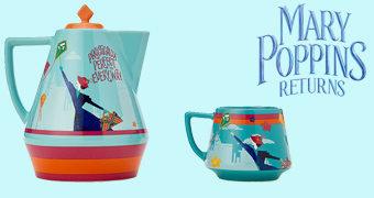 Jogo de Chá O Retorno de Mary Poppins