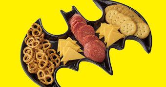 Prato de Salgadinhos do Batman