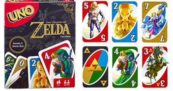 Jogo de Cartas UNO The Legend of Zelda
