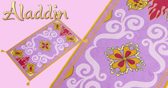 Réplica do Tapete Mágico de Aladdin