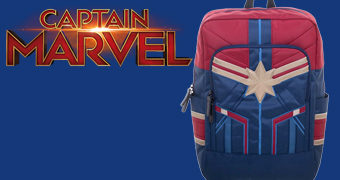 Mochila Capitã Marvel Suit Backpack