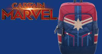 Mochila Capitã Marvel Suit Backpack