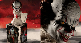 Palhaço Pennywise Burst-A-Box (Jack-In-The-Box) do Filme IT: A Coisa