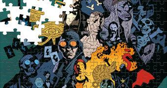 Quebra-Cabeça Universo Hellboy por Mike Mignola