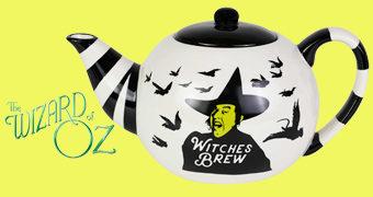 Bule de Chá Bruxa Má do Oeste em O Mágico de Oz
