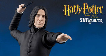Action Figure S.H.Figuarts Severus Snape (Harry Potter e a Pedra Filosofal)