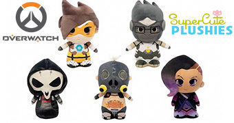 Overwatch SuperCute Plushies – Bonecos de Pelúcia Funko do Game