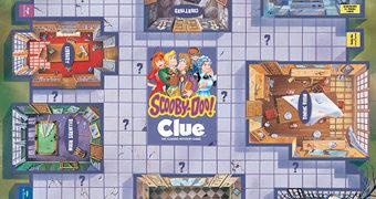Jogo de Tabuleiro Scooby-Doo Clue (Detetive)