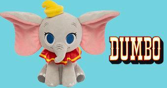 Elefante de Pelúcia Dumbo SuperCute