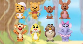 Mini-Figuras Funko Ursinho Pooh e Amigos!