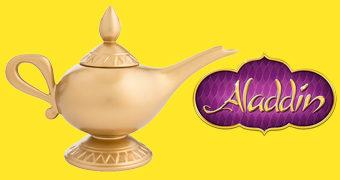 Bule de Chá Lâmpada Mágica do Aladdin