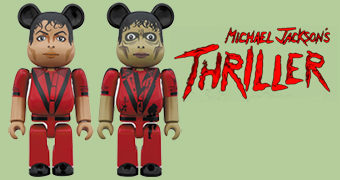 Michael Jackson Be@rbrick Thriller (100% & 400%)