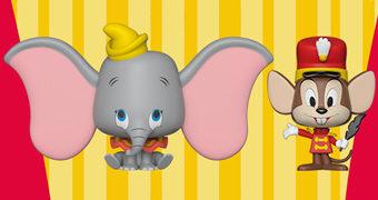 Dupla VYNL Dumbo + Timóteo (Disney)