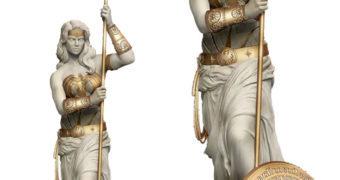 Estátua Mulher Maravilha Estilo Grécia Antiga (Vênus de Milo)