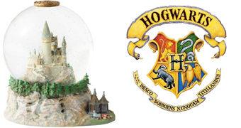 Globo de Neve Castelo de Hogwarts (Harry Potter)