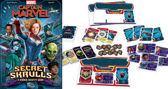 Jogo Capitã Marvel: Secret Skrulls (Estilo BANG!)
