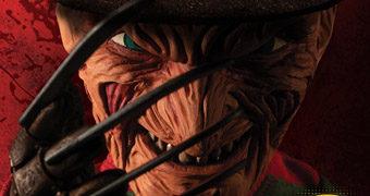 Boneco Falante Freddy Krueger Mega Scale com 38 cm de Altura (A Hora do Pesadelo)