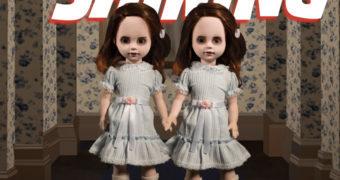 As Gêmeas Grady de O Iluminado em versão Living Dead Dolls