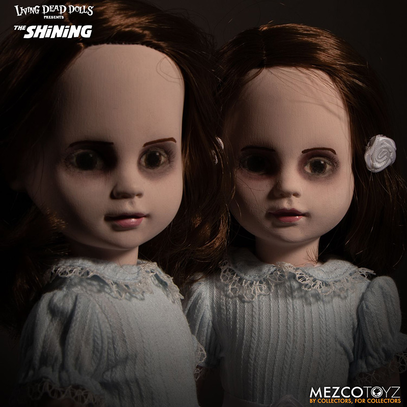 Living Dead Dolls The Shining: Talking Grady Twins da Mezco Toys
