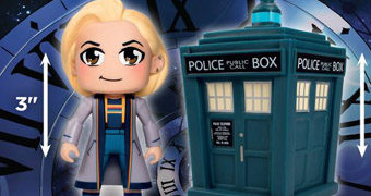 Doctor Who TITANS Mini: 13º Doctor (Jodie Whittaker) e a TARDIS