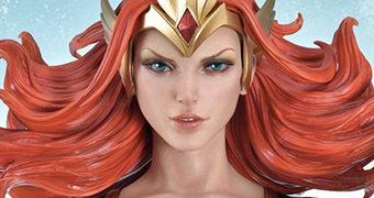 Estátua Mera Museum Masterline, a Rainha Guerreira de Atlântida (Aquaman)