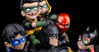 Diorama Batman com a Bat-Família!