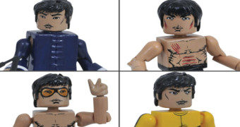 Mini-Figuras Minimates Bruce Lee
