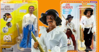 Action Figures Retro Jimi Hendrix Mego Corporation