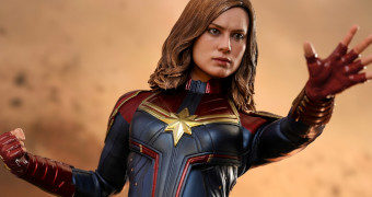 Capitã Marvel (Brie Larson) – Action Figure Perfeita 1:6 Hot Toys