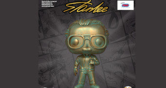 Boneco Stan Lee (Patina) Pop! Icons