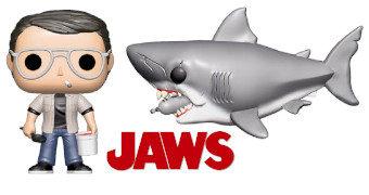 Bonecos Pop! Tubarão (Jaws) de Steven Spielberg