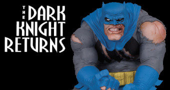 Estátua Batman: The Dark Knight Returns DC Designer Series (Frank Miller)