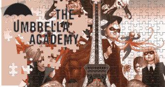 Quebra-Cabeça The Umbrella Academy (Comics) com 1.000 Peças