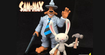 Action Figures Sam & Max: Freelance Police (Steve Purcell)