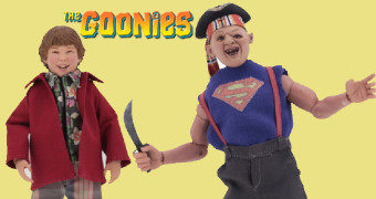 Os Goonies: Sloth & Chunk – Action Figure Retro Neca Clothed