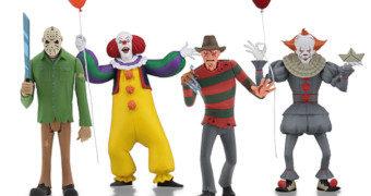 Toony Terrors: Freddy, Jason e Pennywise no Estilo Desenho Animado
