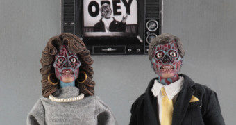 They Live (Eles Vivem) de John Carpenter – Action Figures Retro Neca Clothed