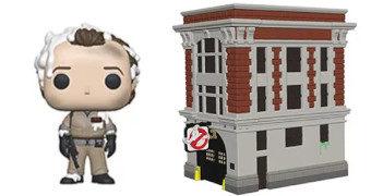 Pop! Town Ghostbusters: Peter Venkman e Quartel de Bombeiros
