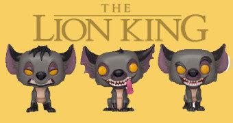 O Rei Leão Pop! Clã Hienas: Shenzi, Banzai e Ed