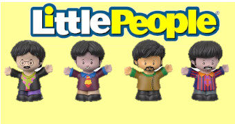 Bonecos Fisher-Price The Beatles Little People