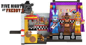 Five Nights at Freddy's Blocos de Montar McFarlane Toys (Estilo LEGO)
