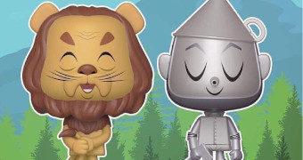 Dupla VYNL Homem de Lata + Leão Covarde (O Mágico de Oz)