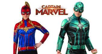 Fantasias do Filme Capitã Marvel para o Carnaval 2019