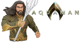 Cofre Busto Aquaman (Jason Momoa)