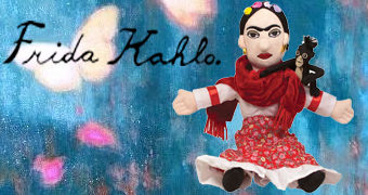 Boneca de Pano Frida Kahlo Little Thinker