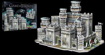 Quebra-Cabeça 3D de Winterfell, o Castelo da Família Stark (Game of Thrones)