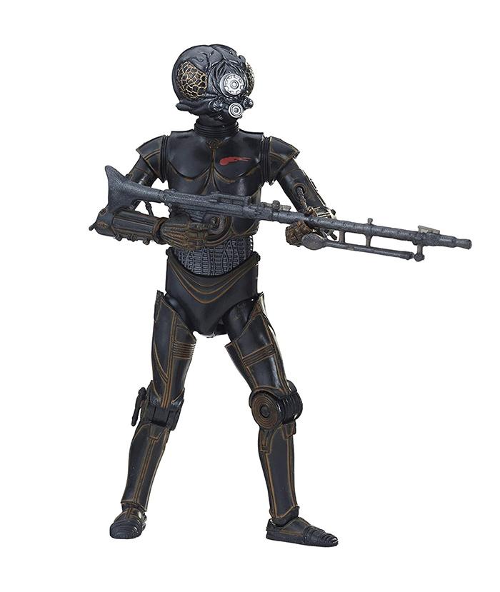 4-ROM, um dos caçadores de recompensa de O Império Contra-Ataca em versão Black Series