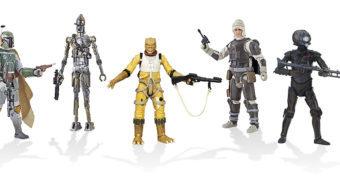 Caçadores de Recompensa de O Império Contra-Ataca em versão Black Series