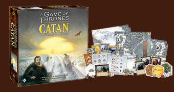 Jogo Game of Thrones Catan: Brotherhood of the Watch (Colonizadores de Catan)