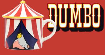 Caneca Dumbo Tenda de Circo 3D (1941)